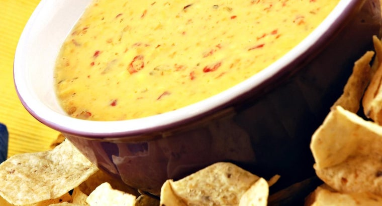 What Are Some Recipes for Queso Dip That Use Prepared Ingredients Such As Rotel?
