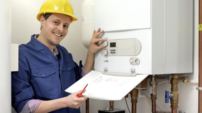 How do you install a GE water heater?