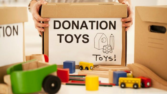 Where can you donate toys?