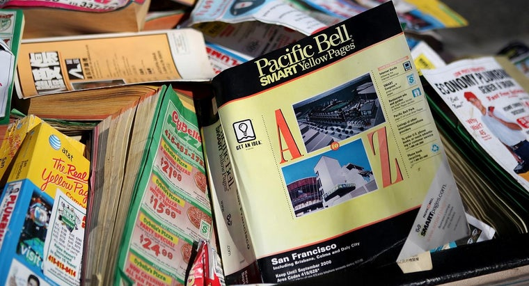 Where Can You Get a Phone Book for Your Local Area?