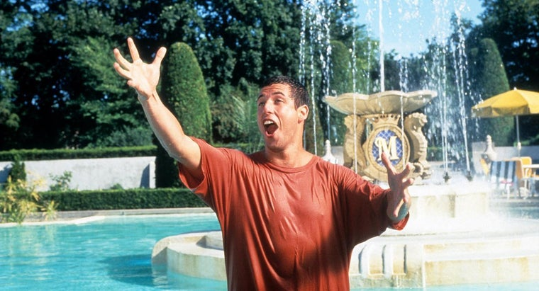 How Many Movies Has Adam Sandler Made?