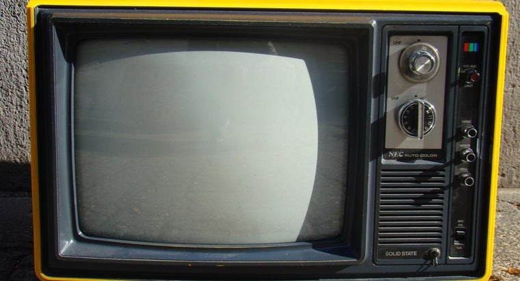 Where Can You Recycle Old Televisions?