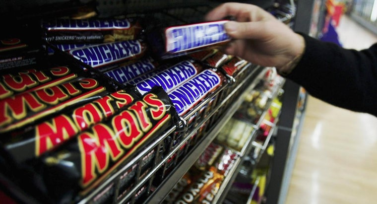 What Are Some Popular Candy Bars?