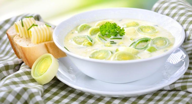 Where Can You Find a Top-Rated Potato Leek Soup Recipe?