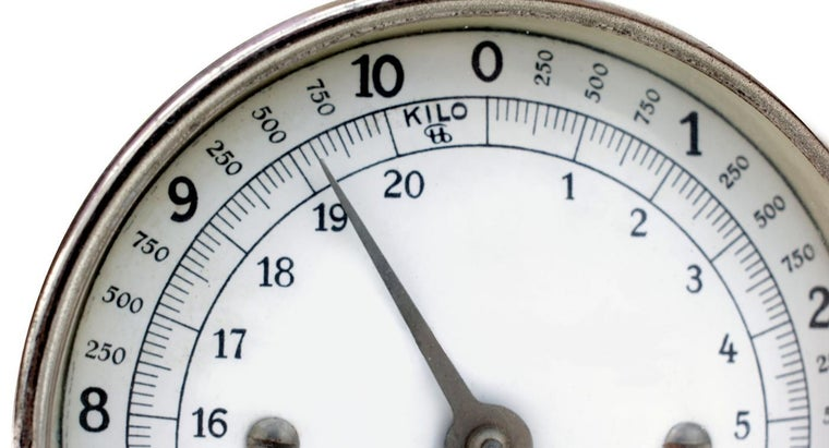 Where Can You Find a Weight Scale Chart?