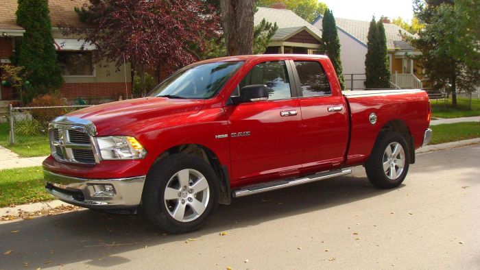 What Is the Length of a Typical Dodge Ram?