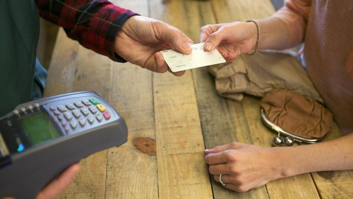 How do you make a credit card payment?