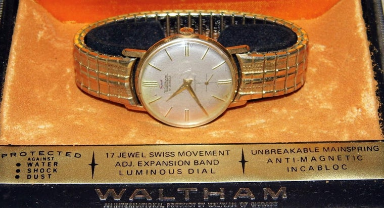 How Do You Locate a Serial Number on a Waltham Watch?