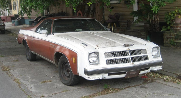 Who Sells Cheap El Caminos?