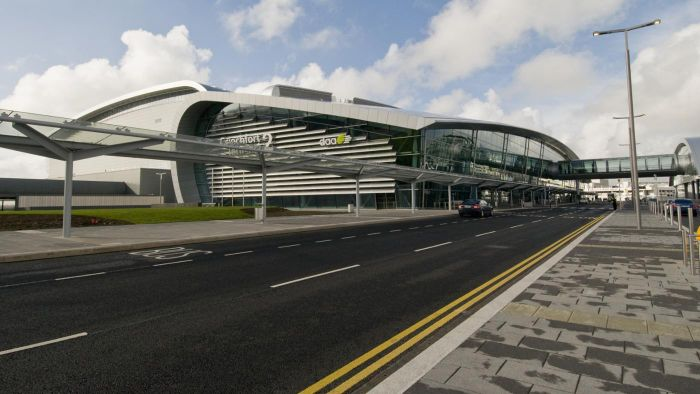 What are some car rental options at Dublin Airport?