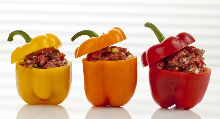 What Is a Quick Way to Make Stuffed Bell Peppers?