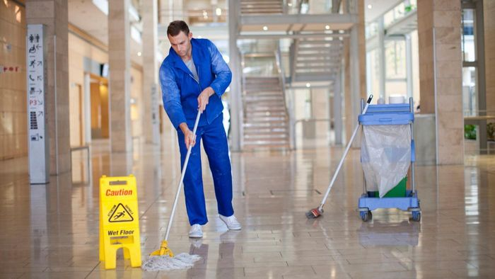 Where can you find part time office cleaning job postings online?