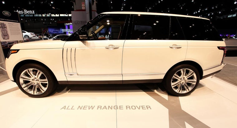 How Do You Change the Oil in a 2015 Range Rover?