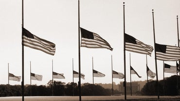 When Should a Flag Be Flown at Half Mast?