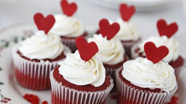 What Is an Easy Red Velvet Cupcake Recipe?