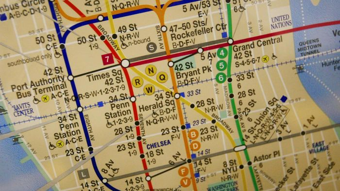 Where Can You View a Map of the NYC Subway?