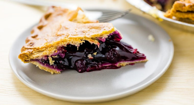 How Do Make Blueberry Pie With Frozen Berries?
