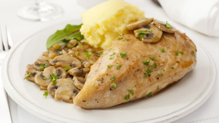 Where Can Tyler Florence's Recipe for Chicken Marsala Be Found?