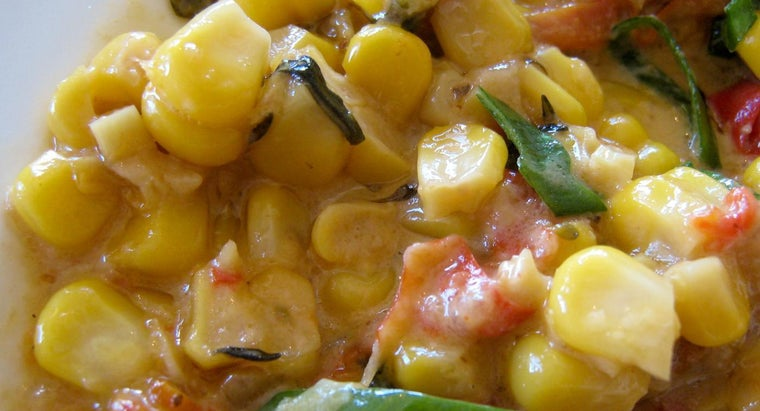What Is a Good Recipe for Homemade Cream Corn?