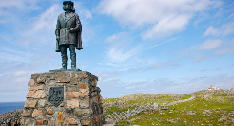 For Which King Did John Cabot Claim Lands?
