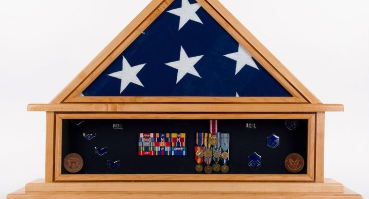 How Do You Build a Wooden Flag Display Case?