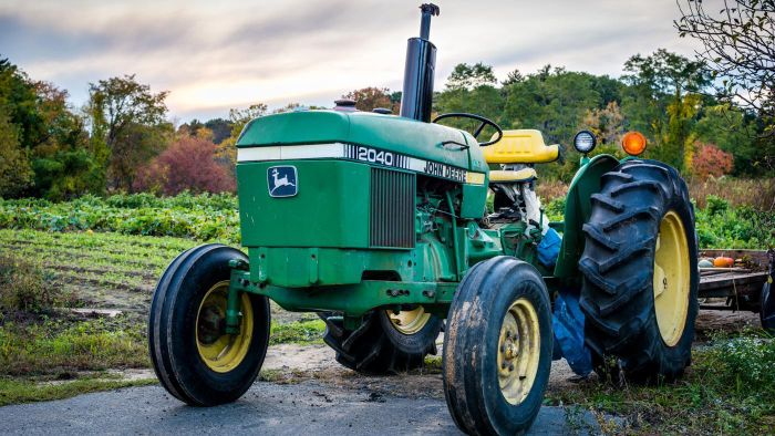 What are the factors to consider when buying a used tractor?