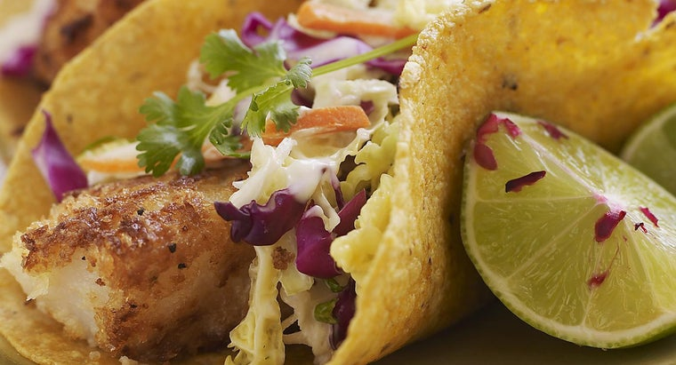 What Is an Easy Taco Recipe That Uses Sea Bass?