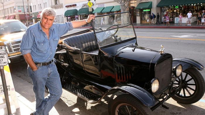What Are Some Vehicles in Jay Leno's Garage?