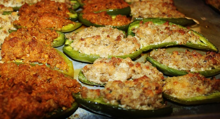 What Are Some Recipes for Stuffed Jalapeño Appetizers?