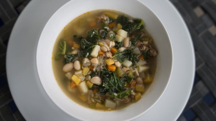 Where Do You Find Recipes for Sausage and Kale Soup?