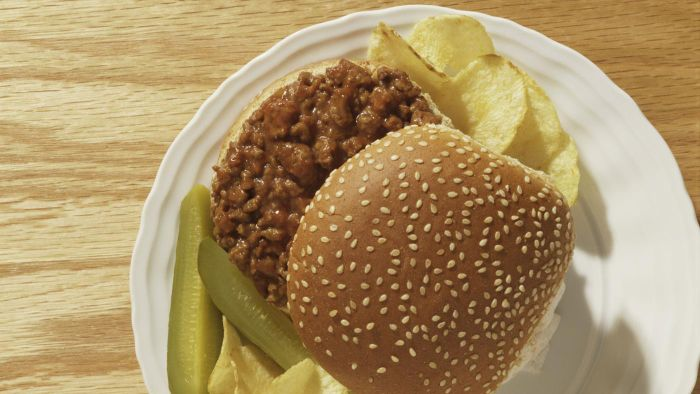 What Is a Recipe for Old-Fashioned Sloppy Joes?