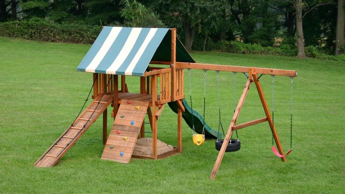 How Do You Build Your Own Swing Set?