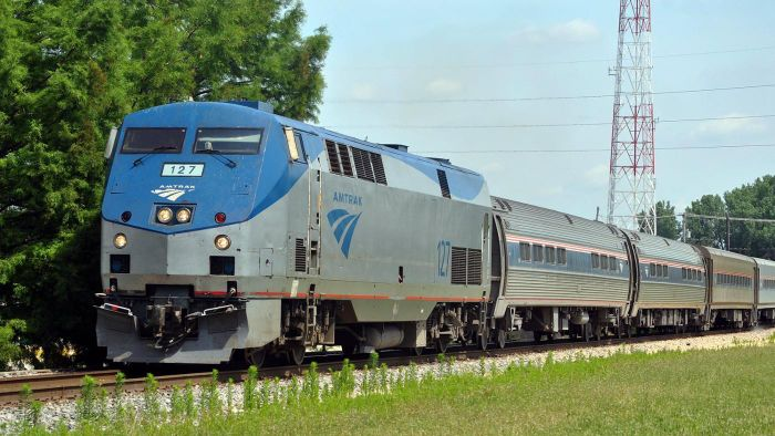 How do you find current Amtrak luggage rules?