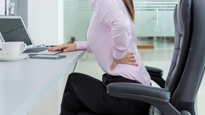 What type of bed helps with lower back pain?