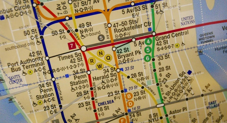 Where Can You Find an R-Train Subway Map?