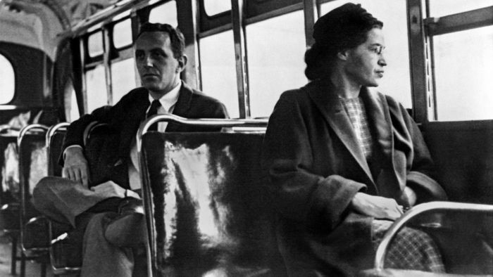What Museum Has a Picture Gallery of Rosa Parks?