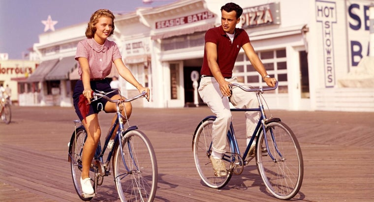 What Type of Bicycles Were Made in the 1950s?
