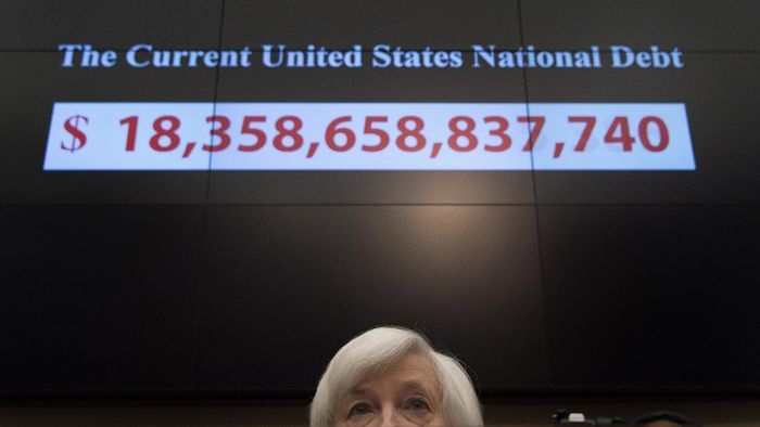 Has Anyone Published the National Debt by President?