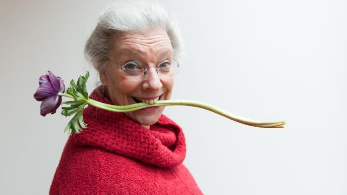 What Types of Flowers Do Women Over 60 Years Old Like?