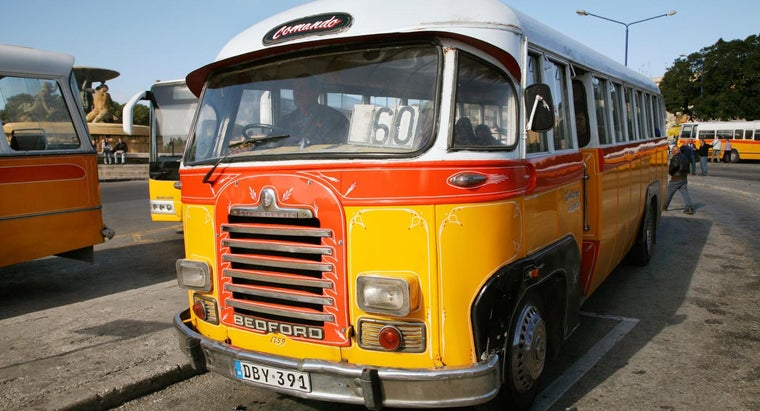 What Are Some Uses for Used Buses?