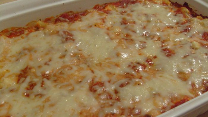 What Is Rachael Ray's Baked Ziti Recipe?