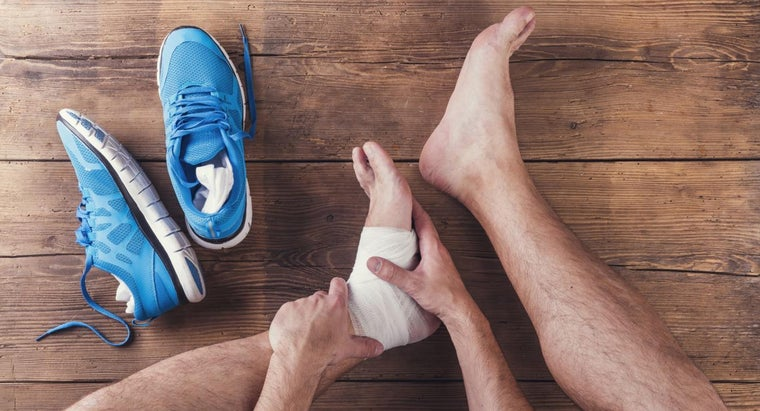 How Do You Treat a Sprained Ankle?