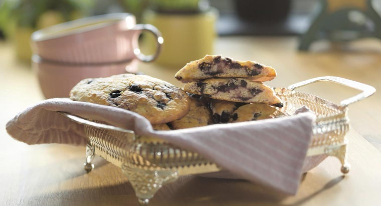 What Is a Recipe for Blueberry Scones?