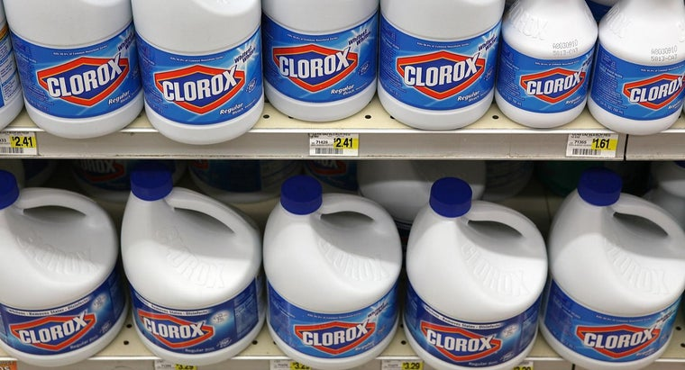 What Are Some Warnings on the Clorox Bleach MSDS?