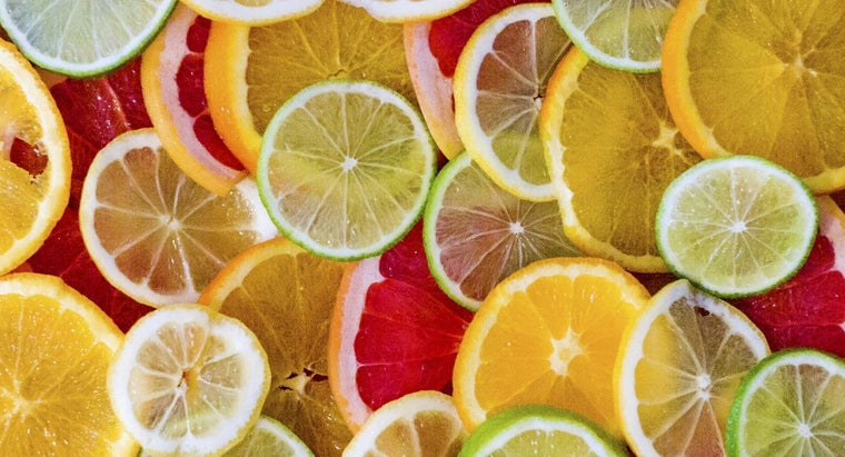 What Some Common Characteristics of Acidic Fruits and Vegetables?