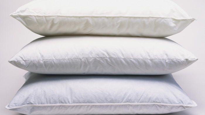 Where can someone find a pillow size chart?