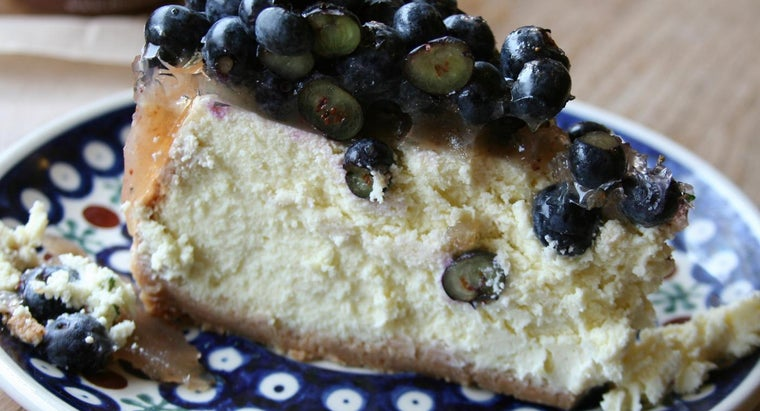 What Are Some Easy Blueberry Cheesecake Recipes?