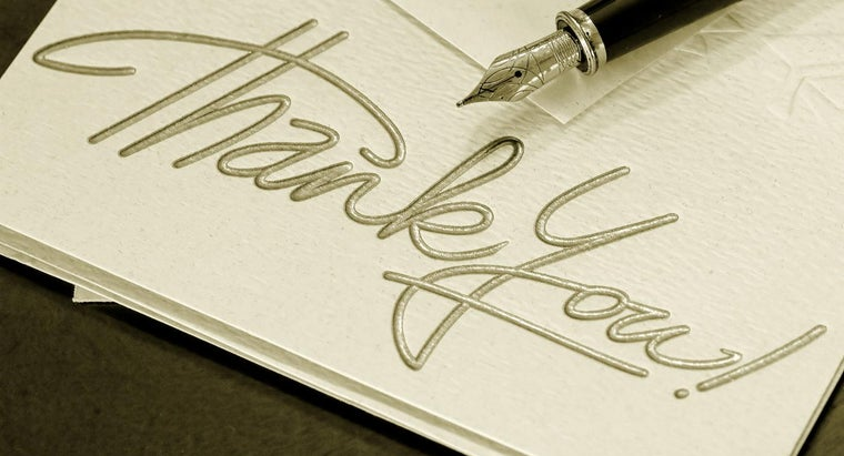 Where Can I Find a Business Thank You Letter Template?