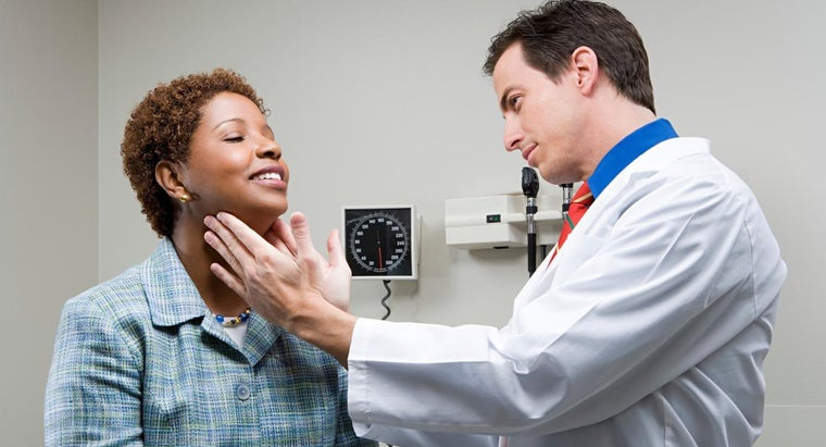 What Causes Glands in the Neck to Become Swollen?