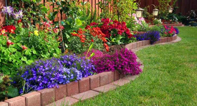 What Are Some Popular Landscape Border Edging Ideas?